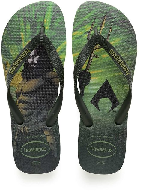 Chinelo Havaianas Masculino Top Herois Dc Amazonia