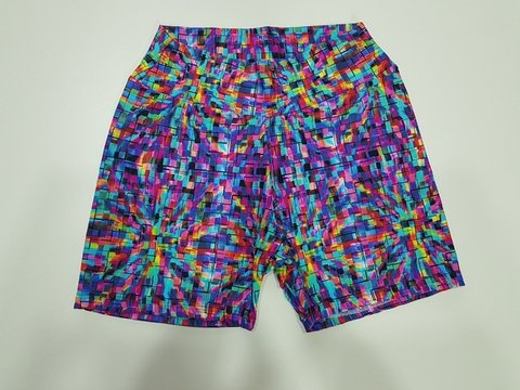 Shorts Poliamida Estampado