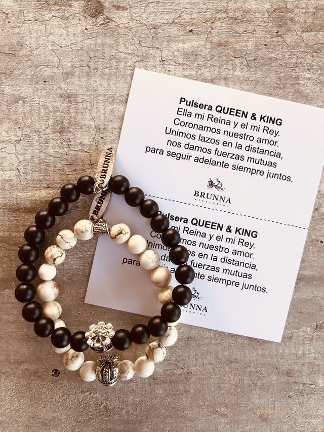 Pulsera Queen & King - comprar online