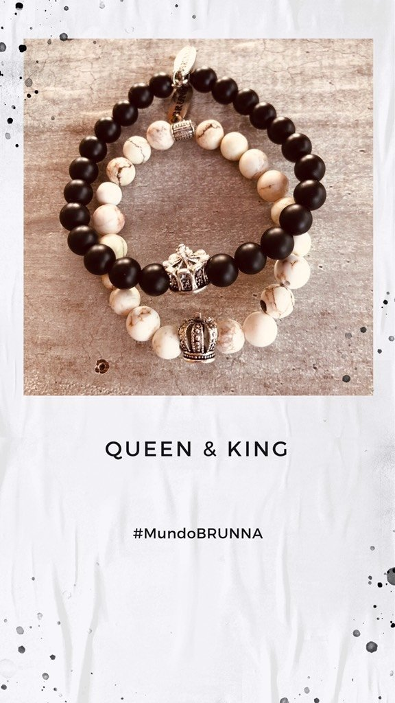Pulsera Queen & King en internet