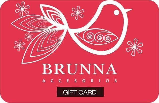 Gift Card BRUNNA Silver