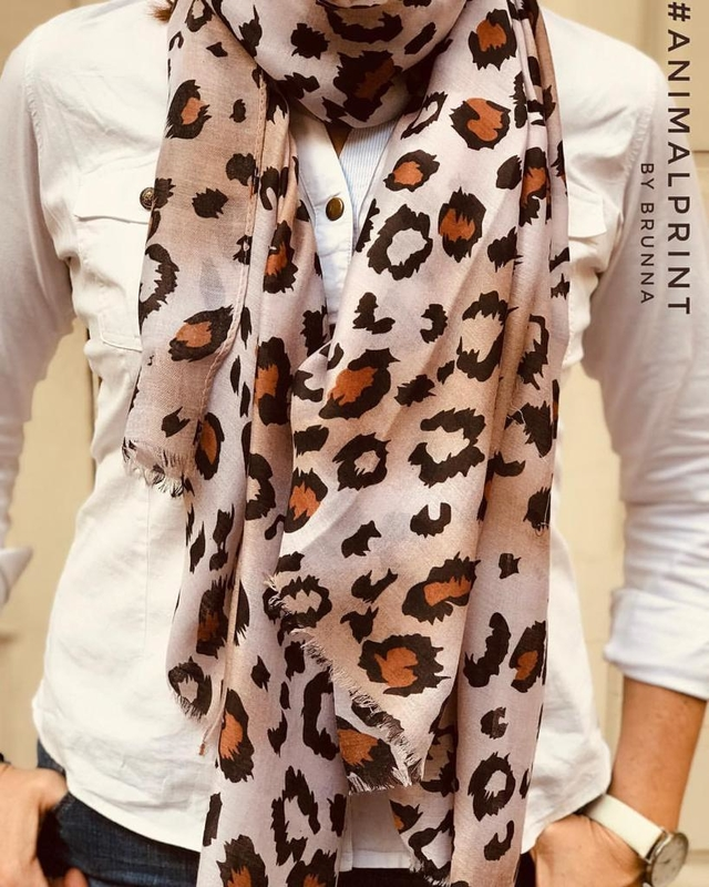 Pashmina XL Animal Print