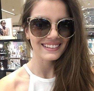 ba9a4714330445 Óculos de Sol Dior Sideral II - Loira Morena