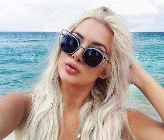 Óculos de Sol Fendi Eye Color - Loira Morena 79a7c11389