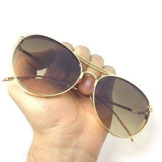 00936d4b34c9c Óculos de sol Gucci Round Aviador - Loira Morena