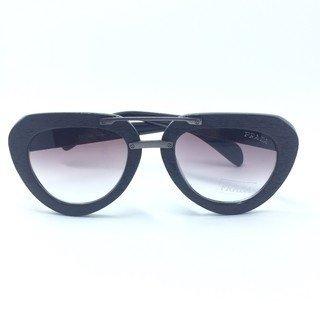 f636e29fc8a5d Óculos de Sol Prada Aviador Madeira - Loira Morena
