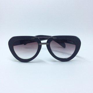 44758839dee87 Óculos de Sol Prada Aviador Madeira - Loira Morena