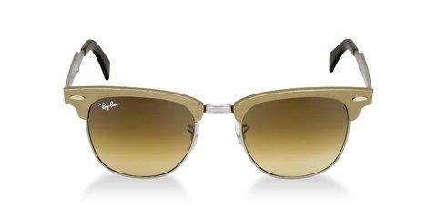 0735396cd08b2 Oculos de Sol Ray Ban Clubmaster - Dourado com lente marrom