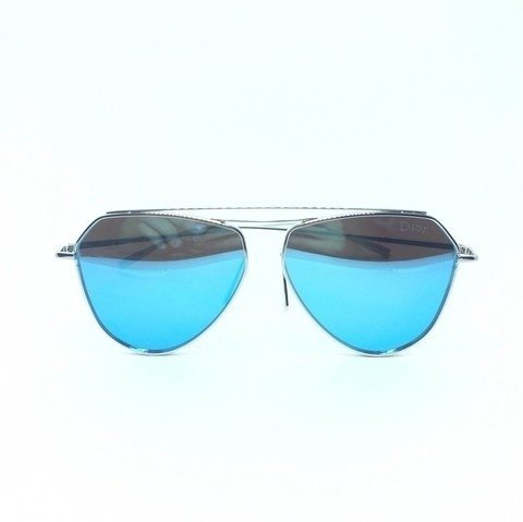 000769392 Oculos Dior Aviador Chrome Espelhado - Loira Morena