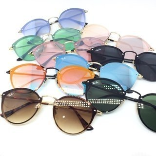 5ec59bd831c00 Óculos de Sol Ray Ban Blaze Round. 0% OFF. Novo. 1