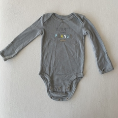 Body gris Peanut - Carters