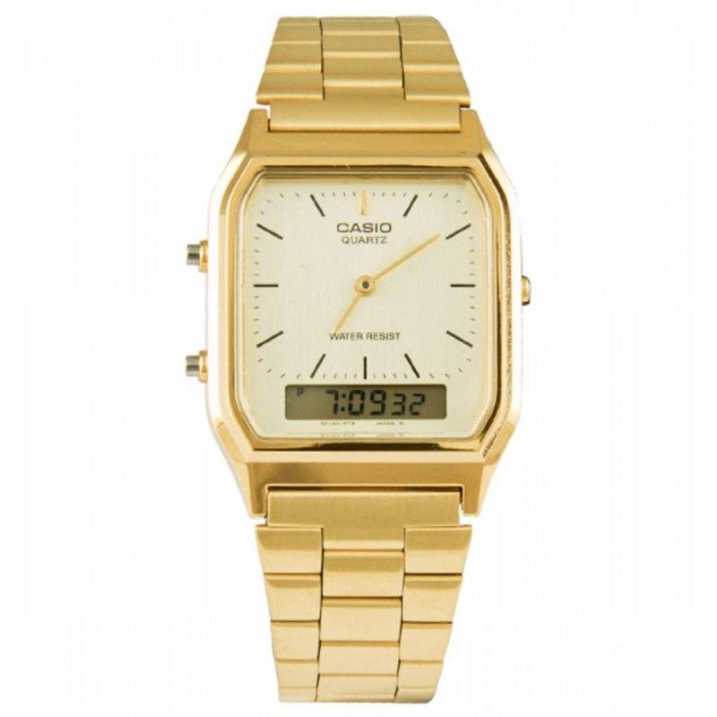 0c00062c1c8 Relógio Casio Unissex Vintage Dourado Anadigi
