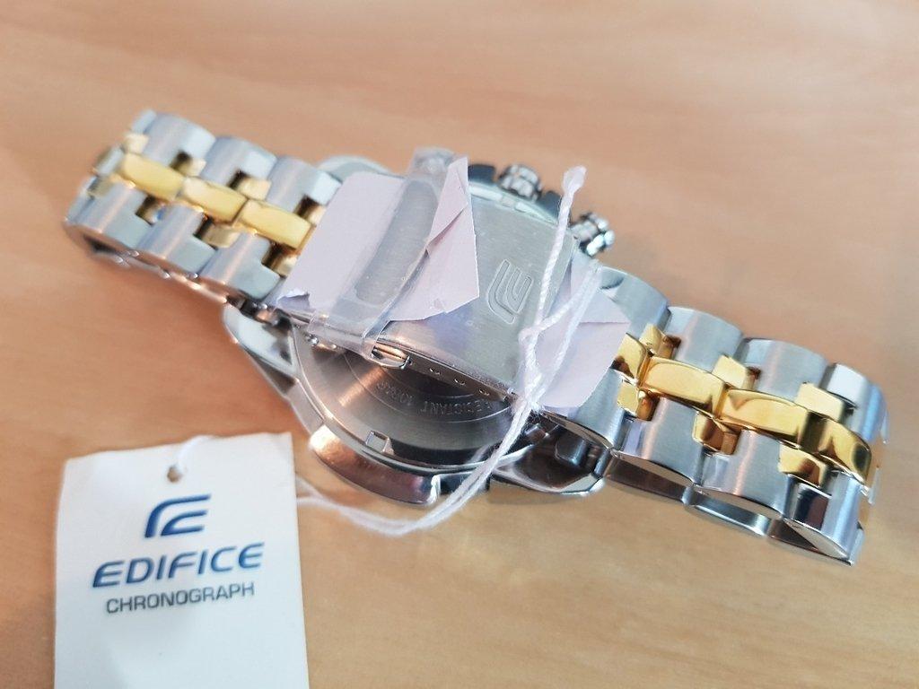 585dfbdcf41 Relógio Casio Edifice Ef-558sg-1avudf Misto Cronógrafo. 45% OFF