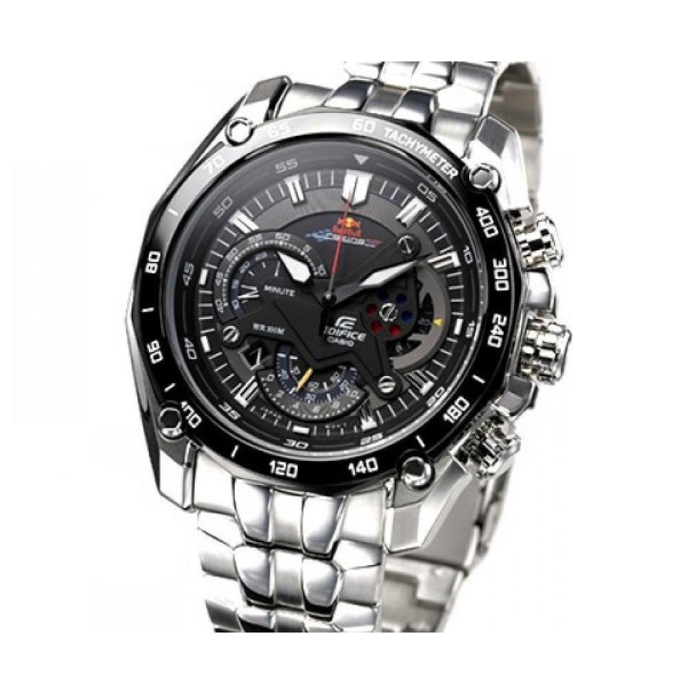 237ee7f4e87 Relógio Casio Edifice Red Bull Racing Ef-550rbsp-1av