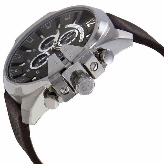 9ed4fc4646d ... Relógio Diesel Dz4290 Mega Chief Couro Novo - comprar online ...
