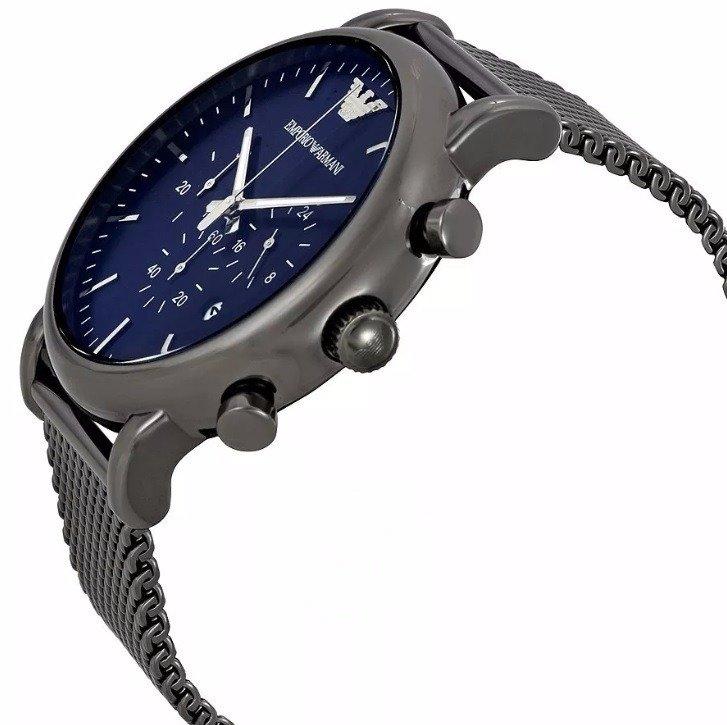 4899b5d1ce474 Relógio Empório Armani Ar1979 Azul Blue