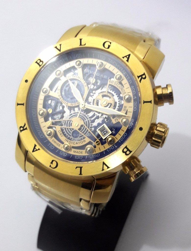 8578bf50ff4 Relógio Bvlgari Iron Man Skeleton
