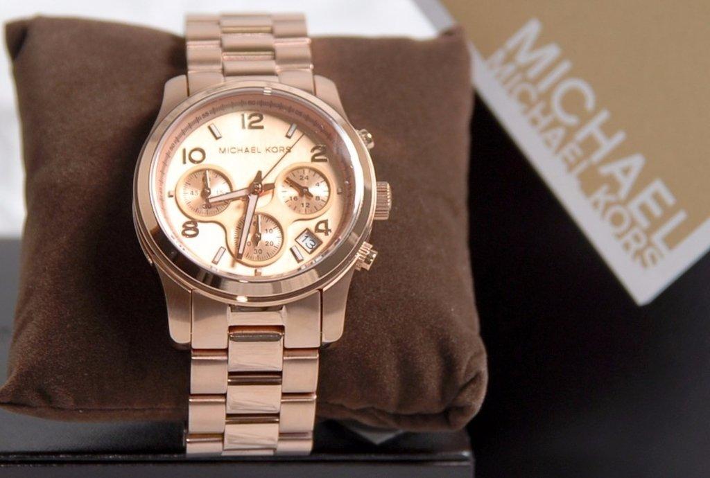 14362892f57 Relógio Michael Kors Mk5128 Oversized Original Completo Novo