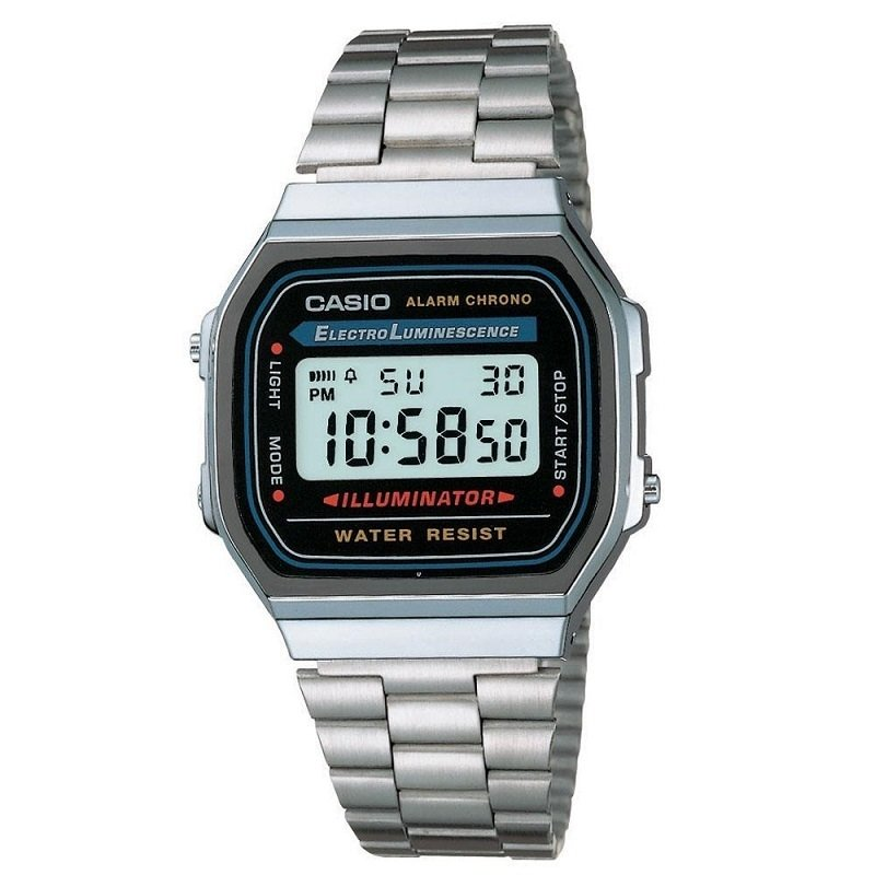 b7954a9981 Relógio Masculino Casio Digital Esportivo A158WA-1DF