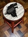 Conjunto 4 Banquetas Game Of Thrones GOT