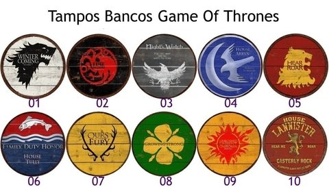 Banquetas Game Of Thrones na internet