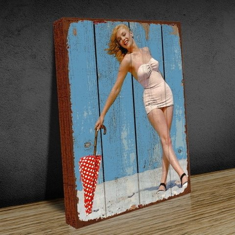 Tela 30x40 Marilyn Umbrella