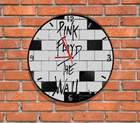 Relógio Vinil Pink Floyd The Wall