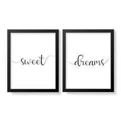 KIT QUADROS SWEET DREAMS - Creative Home