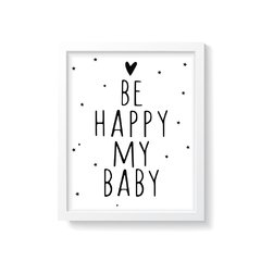 Quadro Poster My Baby - Creative Home