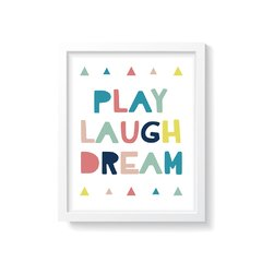 Quadro Poster Play - Colorful - comprar online