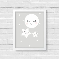 Quadro Poster Infantil Night