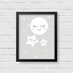 Quadro Poster Infantil Night - Creative Home