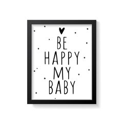 Quadro Poster My Baby - comprar online