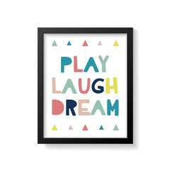 Quadro Poster Play - Colorful - Creative Home