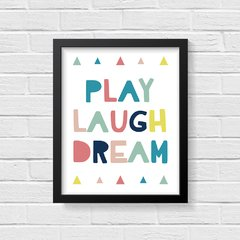 Quadro Poster Play - Colorful na internet