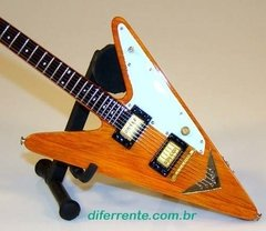 Mini Guitarra Wooden Reverse Flying V - comprar online