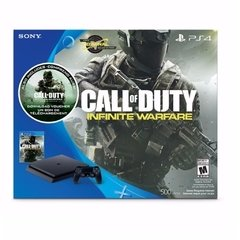 Console PlayStation 4 500GB + Call of Duty Infinity Warfare : 01 Controle - Sony