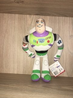 Pelúcia Buzz Lightyear Toy Story Disney 35 Cm Long Jump