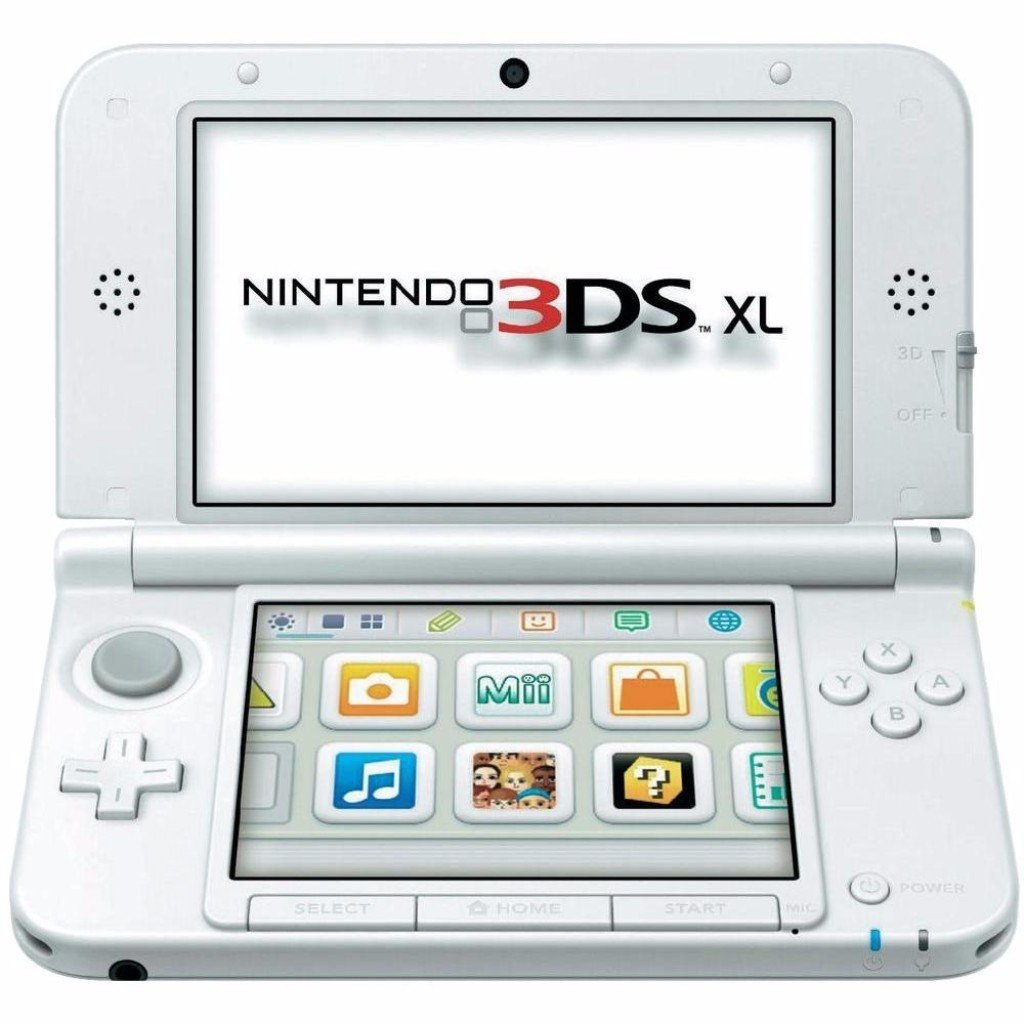 Console New Nintendo 3DS XL WHITE - Play Games Vídeo on