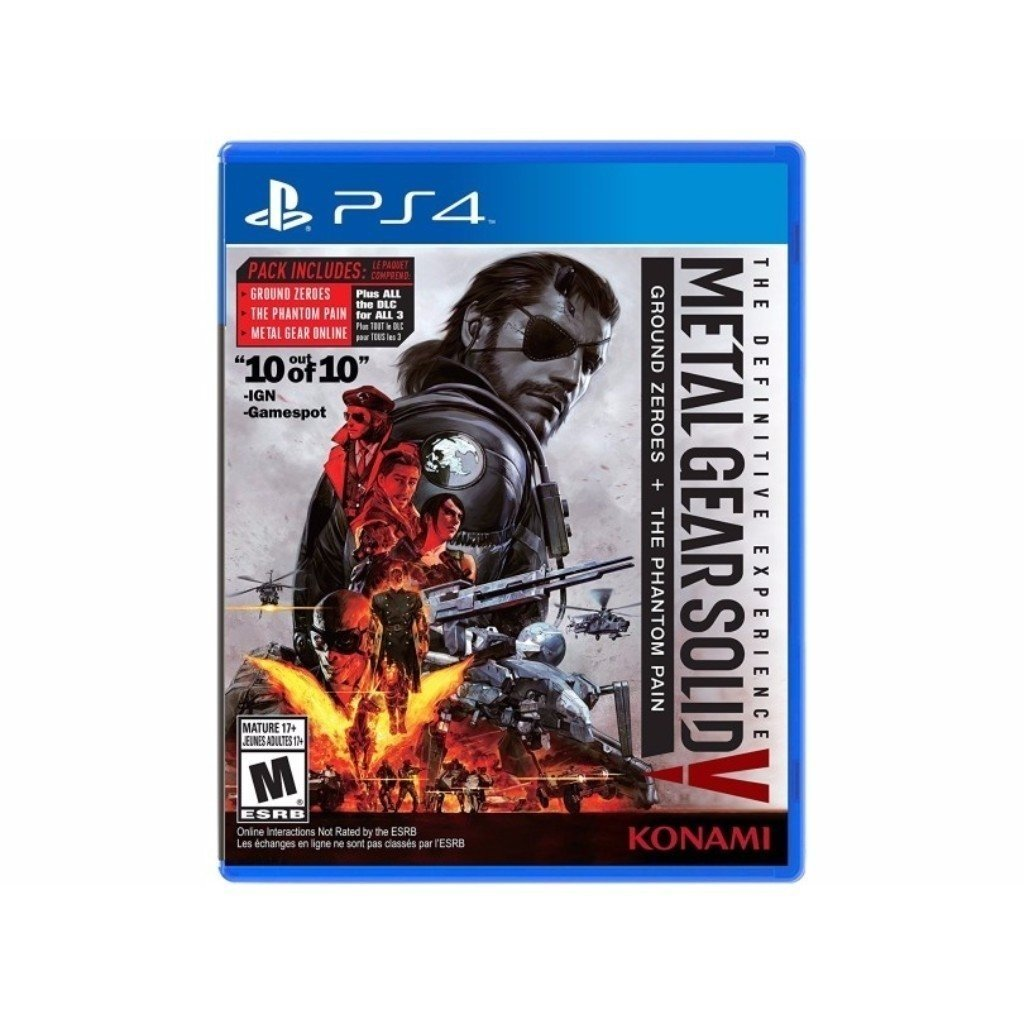 c0f47e8700 Jogo Metal Gear Solid V  The Definitive Experience - PS4