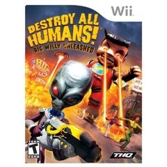 Jogo Destroy All Humans! Big Willy Unleashed - Wii