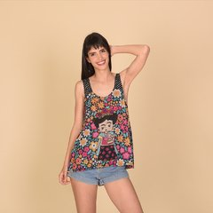 Musculosa Beach Frida 4 en internet