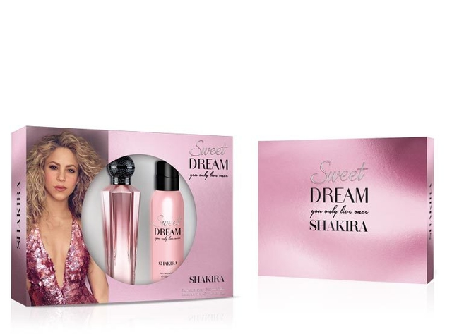 SET SHAKIRA SWEET DREAM EDT 80 ML + DEO 150 ML - comprar online