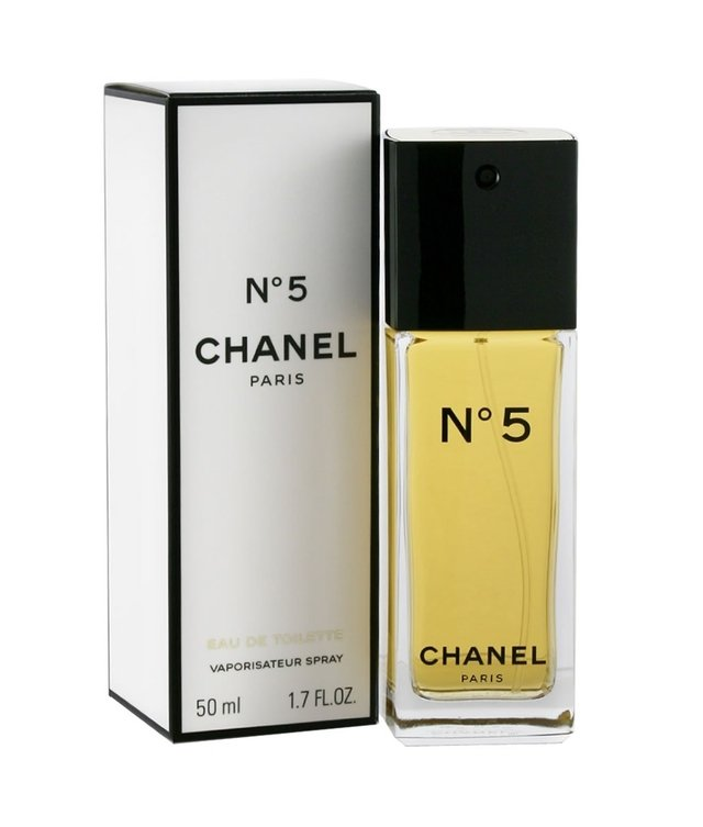 Chanel No 5 Eau de Toilette is a fragrance Chanel fragrance family of Aldehdica Floral for Women. Chanel No 5 Eau de Toilette was launched in 1921. The nose behind this fragrance is Ernest Beaux. The top notes are neroli ylang-ylang limn Bergamot Amalfi lima Amalfi and aldehdos notes Corazn are iris jasmine raz pink lily and lily of the valley muguet base notes are vetiver musk sandalwood patchouli moss mbar oak and vanilla civet civet. - buy online