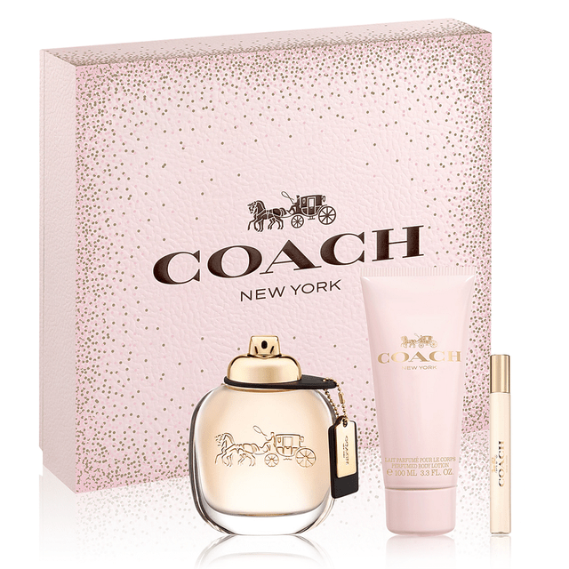 SET COACH EDP 90 ML + BODY LOTION 100 ML + EDP 7.5 ML