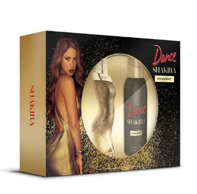 SET SHAKIRA DANCE MIDNIGHT EDT 80 ML + DEO 150 ML