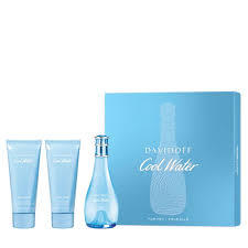 SET COOL WATER WOMAN EDT 100 ML + SHOWER GEL 75 ML + BODY LOTION 75 ML