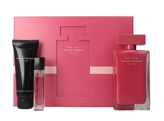 SET FLEUR MUSC EDP 100 ML + EDP 10 ML + BODY LOTION 75 ML