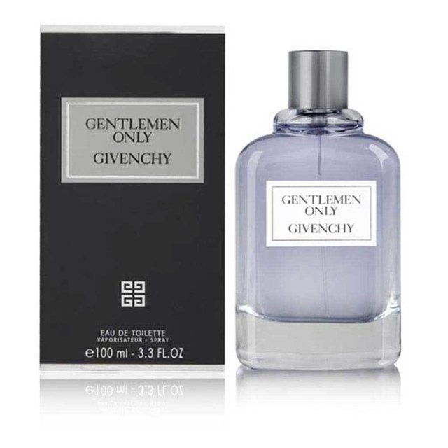 Gentlemen Only Givenchy is a fragrance of olfactory family Hombres.Las Woody notes are green mandarin nutmeg pink pepper birch leaves and bergamot notes are cedar patchouli Corazn elem vetiver and violet leaves base notes are incense and musk. on internet