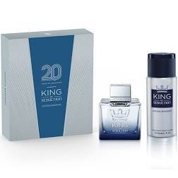 SET KING OF SEDUCTION EDT 100 ML + DEO